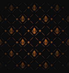 royal lily background vector image vector image