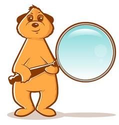 Meerkat Search vector image
