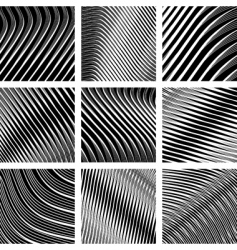 op art backgrounds vector image vector image