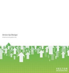 Arrow Up vector image