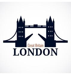 London bridge logo vector