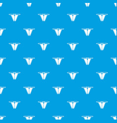 modern bikini pattern seamless blue vector image