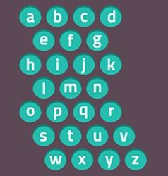 Modern Style Alphabets Set vector image