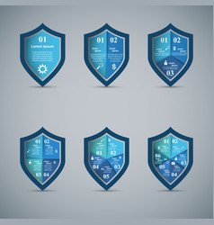Protection business infographics marketing icon vector