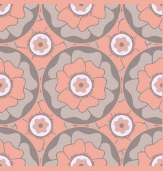 Seamless pattern in oriental style vector