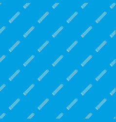 toothpick pattern seamless blue vector image