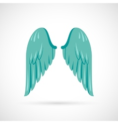 Wing Icon Flat vector image