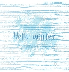 winter grunge background vector image