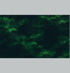 Abstract geometric dark green background vector