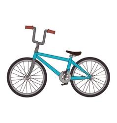 Bicycle bike vehicle vector
