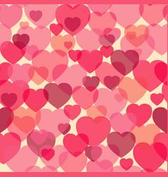Boche heart shape love symbol seamless pattern vector