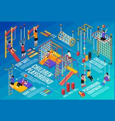 children sport complex composition vector image