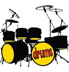Drumkit vector
