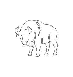 Single continuous line drawing elegance vector