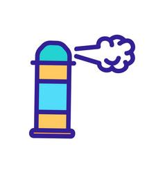 Spray air freshener icon isolated contour vector