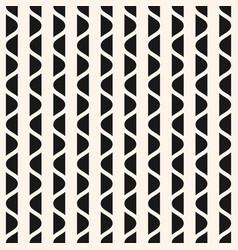 vertical wavy stripes geometric texture vector image