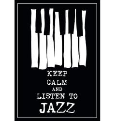 Jazz music poster vector