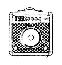 speaker sound device icon vector image