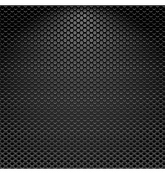 Metallic textured background vector image vector image