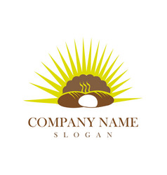 bakery logotype vector image