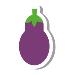 Beet vegetable healthy icon vector