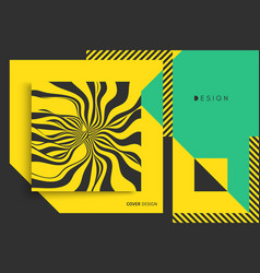cover design template pattern can be used as a vector image