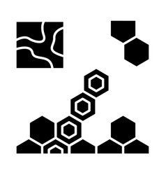 game strategy glyph icon vector image