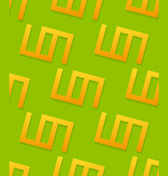 Simple geometric pattern with repeating shapes vector