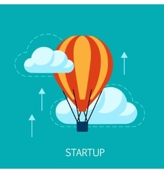 Startup Concept Art vector image