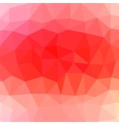 Red Polygonal Pattern vector image vector image