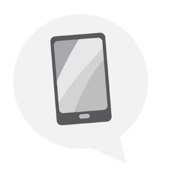 Tablet icon with isolated vector image