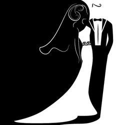 wedding 2 vector image