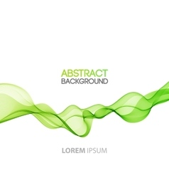 Abstract background futuristic wavy vector
