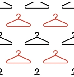Abstract hanger seamless pattern or background vector