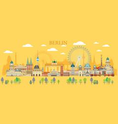Berlin skyline 5 vector