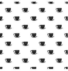 Cup pattern vector