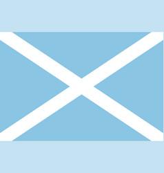 Flag archipelago san andres providencia and vector