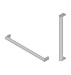 Furniture handle isometric vector