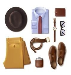 Men Wear Concept vector image