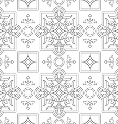 Pattern seamless ornament vector