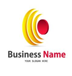 Sun icon design logo vector
