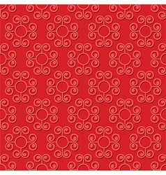 Swirly seamless pattern vector