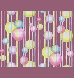 watercolor violet abstract seamless pattern vector image