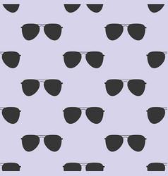 aviator glasses seamless pattern vector image vector image