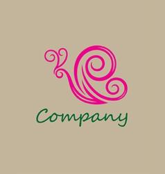 Beauty butterfly logo vector