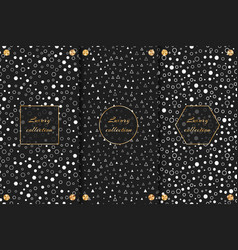 luxurious backgrounds with geometric pattern vector image vector image