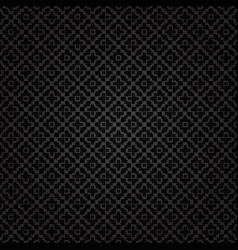 black abstract geometric background seamless vector image