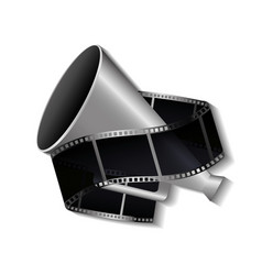 Cinema entertainment elements icon vector