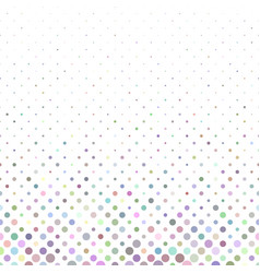 Colorful geometric dot pattern background vector