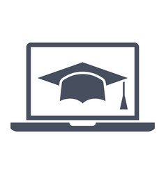 E-learning or online education vector